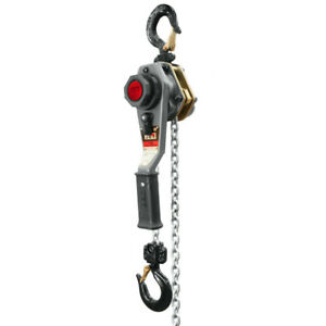Jet 1 T Capacity Lever Hoist With 20 Ft Lift Overload Protection 376203 New