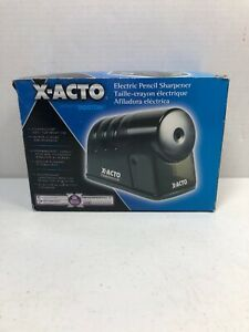 X acto Powerhouse Electric Pencil Sharpener Blue New Other Tested A12