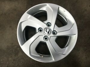 free Shipping Genuine Used 15 Inch Honda Fit Wheel Pcd 4x100 set Of 4 Black