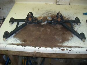 12 YAMAHA 450 GRIZZLY ATV FRONT UPPER A-ARMS  U119