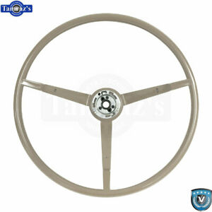 65 66 Ford Mustang Correct 15 Reproduction O E Style Steering Wheel Parchment