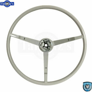 65 66 Ford Mustang Correct 15 Reproduction O e Style Steering Wheel White