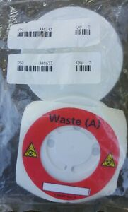 Lot Of 2 Waste Caps Bd Becton Dickinson Facscanto Flow Cytometer 338677 338854
