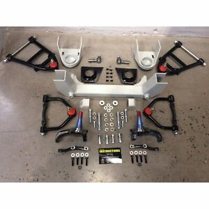 Universal Front End Mustang Ii 2 Ifs Kit For Hot Rod Muscle Car Rat Rod Ford Gm