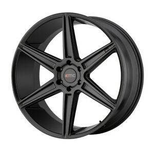 20 Kmc Prism Truck Black km71229063730 Set Of 4 Wheels Rims
