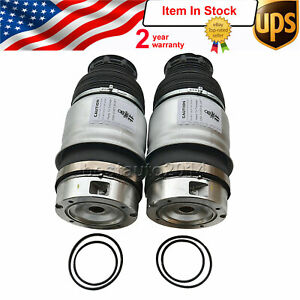 Pair Front Left Right Air Suspension Spring For Vw Touareg 11 16 7p6616040n 39n