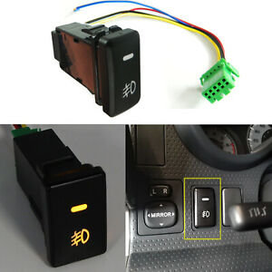 39mm Oe Style Led Push Button Switch Wire Kit For Toyota Fog Light 1 54 X0 83