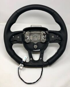 Dodge Hellcat Challenger Charger 2015 19 Oe Mopar Steering Wheel Black Leather