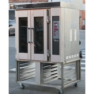 Baxter Ov300e Mini Rack Electric Convection Oven Used Great Condition