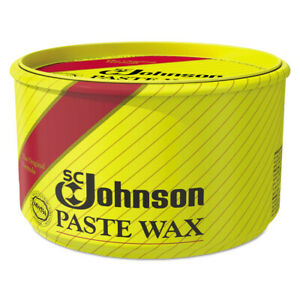 Sc Johnson Paste Wax Multi purpose Floor Protector 16oz Tub 6 carton 203 New
