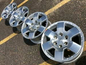 17 Toyota 4runner Tacoma Fj Cruiser Trail Trd Oem Factory Stock Wheels Rims Pro