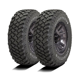 2 New Firestone Destination M T2 Lt 265 75r16 Load E 10 Ply Mt Mud Tires