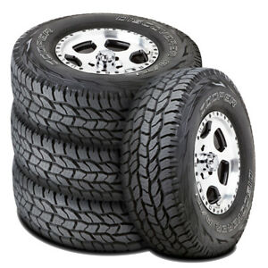 4 New Cooper Discoverer A T3 255 70r16 111t At All Terrain Tires