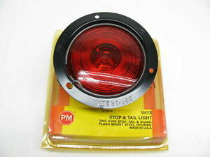 P M V413 Flush Mount Stop Turn Tail Light 4 1 2 Red