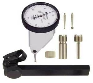 Mitutoyo 513 452 10t Dial Test Indicator Set vert 0to0 030 In