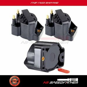 3pcs Spark Ignition Coil Pack New Fits 2000 2005 Chevy Impala V6 3 8l Dr39