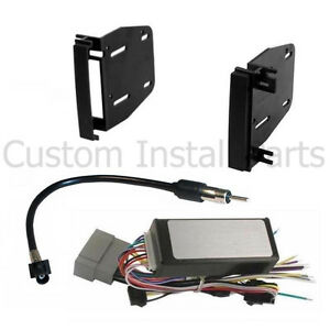 Factory Radio Stereo Canbus Replacement Double Din Aftermarket Install Dash Kit