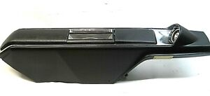 1967 1968 Buick Wildcat Center Floor Automatic Shifter Console Compartment Black