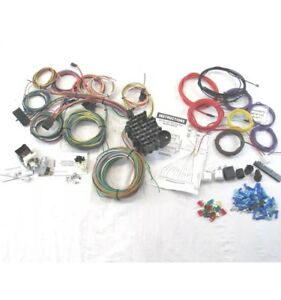 Chevy Ford 22 Circuit Wiring Harness Kit Hot Rod Style Easy Painless Install