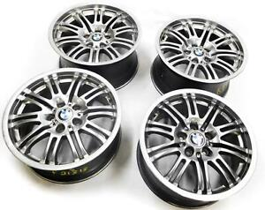 2001 2006 Bmw e46 M3 m 18x8 Front 18x9 Rear Spoke Wheel Rim Set 4
