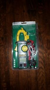 Commercial Electric Lcd Digital Clamp Meter Model ms2033c