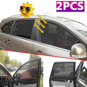 Magnetic Car Front Side Window Curtain Protector Sun Shade Visor Anti Uv Covers