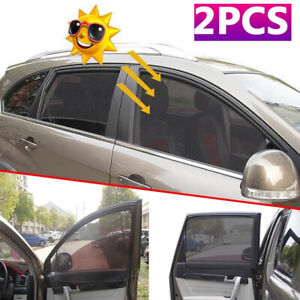 Magnetic Car Front Side Window Curtain Protector Sun Shade Visor Anti Uv Cover
