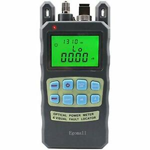 Fiber Optic Cable Tester Visual Fault Locator Portable Optical Power Meter Sc Fc