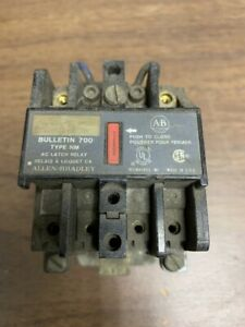 Allen Bradley 700 nm400a2 Ac Latch Relay B122
