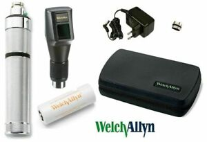 Retinoscope Ophthalmoscope Welch Allyn 3 5v Streak Diagnostic Brand New Set