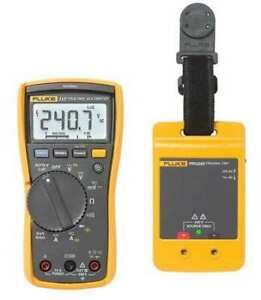 Fluke Fluke 117 prv Digital Multimeter With Non contact Voltage Incl 240v