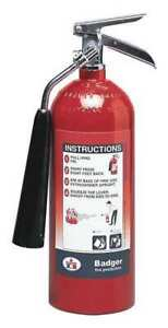 Badger B5v Fire Extinguisher 5b c Carbon Dioxide 5 Lb
