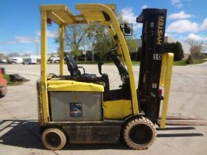 Used Electric Forklift 2013 Hyster E60xn 33 6000