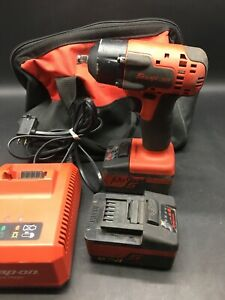Snap on Ct8810a Cordless Lithium ion 18v Impact Wrench Kit 9101689 1