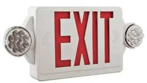 Lithonia Lighting Lhqm Led R Quantum Series Led Lamps Exit Sign With Emergency