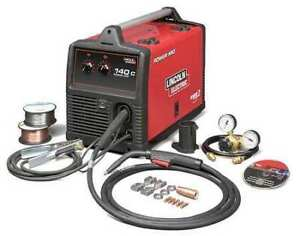 Lincoln Electric K2471 2 Portable Mig Welder Power Mig 140c Series 120vac