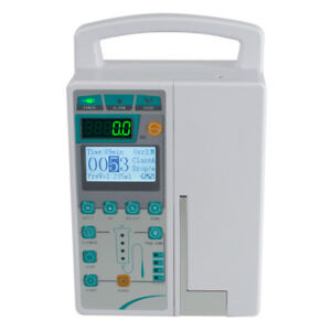 Top Infusion Pump Iv Fluid Equipment Voice Alarm Lcd Monitor Kvo Preset Purge Ce