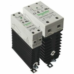 Schneider Electric Ssr645din dc45 Solid State Relay 3 To 32vdc 45a