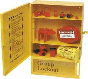 Brady 99708 Lockout Station 14 Components black yllw