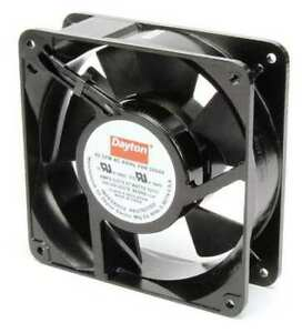 Dayton 3vu64 Axial Fan Square 230vac 1 Phase 62 Cfm 4 11 16 W