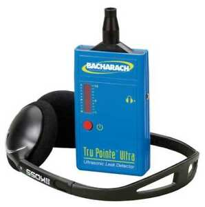 Bacharach 28 8000 Ultrasonic Leak Detector folding Headset