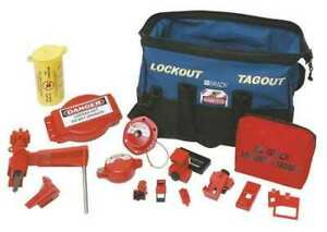 Brady 99689 Portable Lockout Kit electrical valve 18