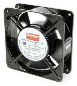 Dayton 3le77 Axial Fan Square 115vac 1 Phase 75 Cfm 4 11 16 W