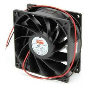 Dayton 2rtj3 Axial Fan Square 24vdc Phase 120 2 Cfm 3 5 8 W