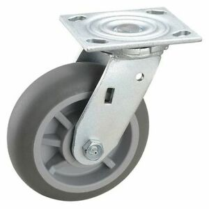 Zoro Select 2ly30 Swivel Plate Caster 600 Lb ball