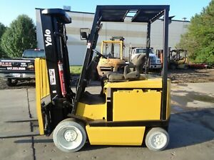 Used Electric Forklift 2008 Yale Erc050 5000