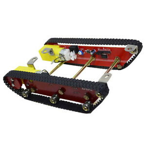 Magideal Alloy Robot Tank Crawler Car Chassis Diy Science Education