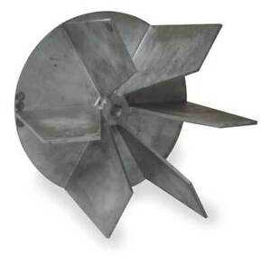 Dayton 2zb35 Replacement Blower wheel