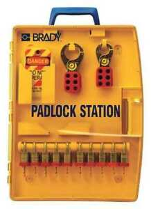 Brady 105931 Lockout Station filled 27 Components