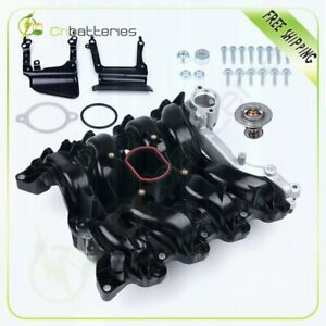 Intake Manifold With Gasket Thermostat O rings For Lincoln Town Car Mercury